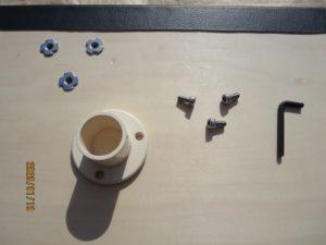 エブリィワゴンの室内テーブル自作