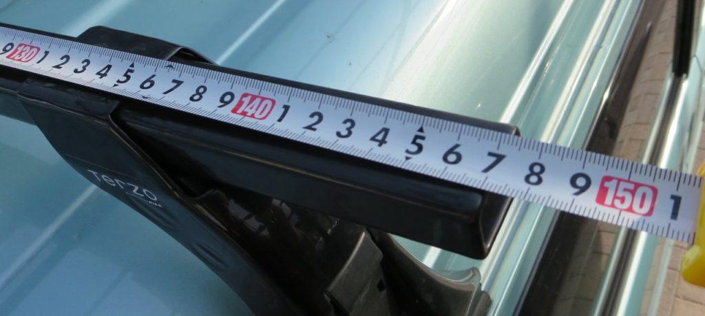 TERZO テルッツォ ベースキャリア ハイルーフ フット:EF4TM バー:EB4