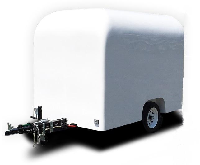 Stage21の軽自動車でも牽引できるキャンピングトレーラーで牽引免許不要の幌馬車くん