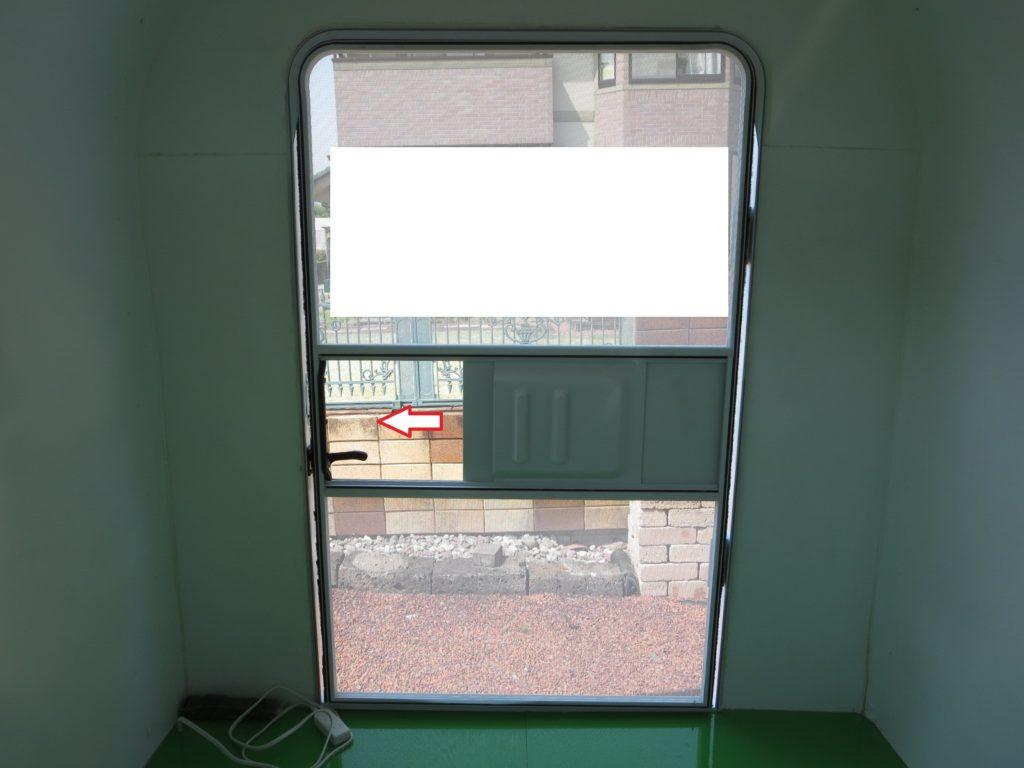 幌馬車くんの網戸のドア