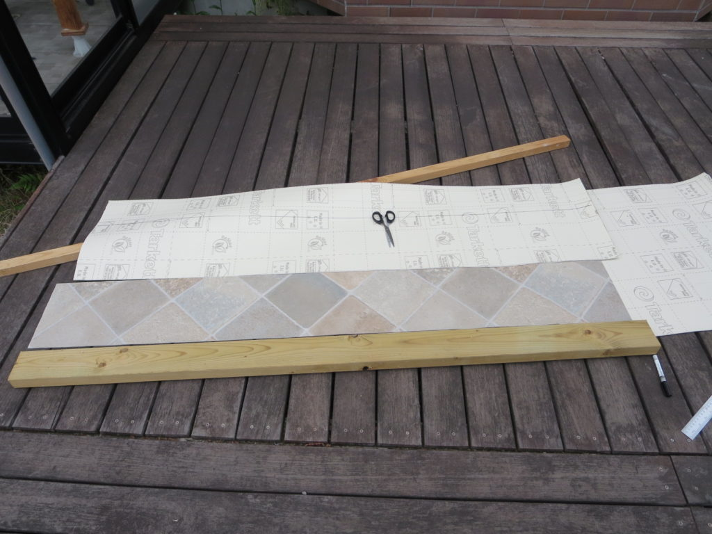 幌馬車くんのテーブル制作(DIY)