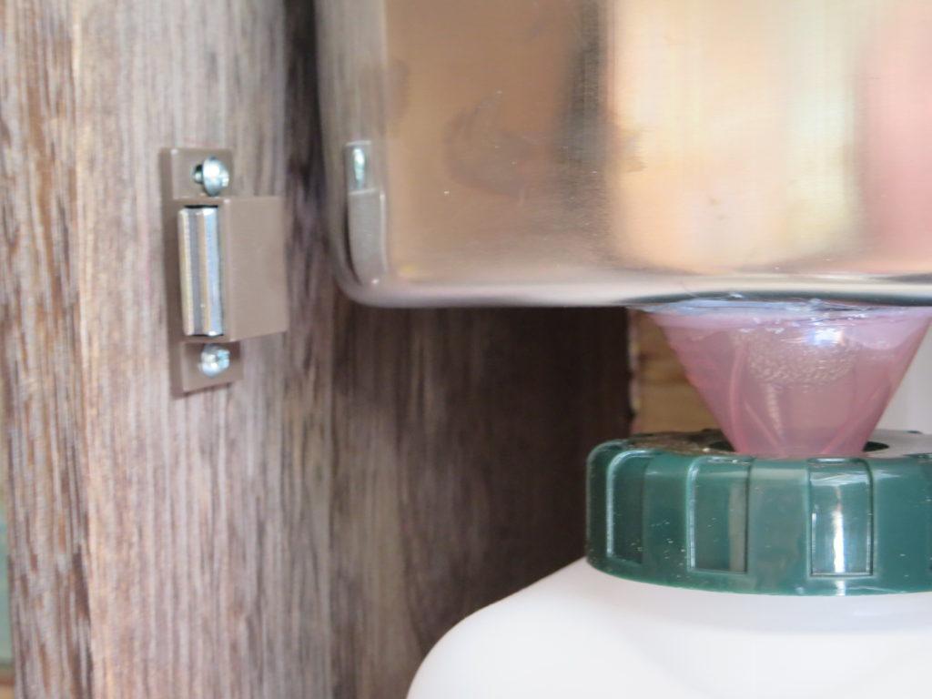 幌馬車くんのシンク自作(DIY)
