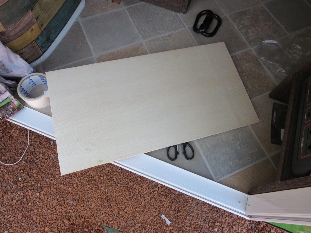 幌馬車くんの収納スペース制作(DIY)