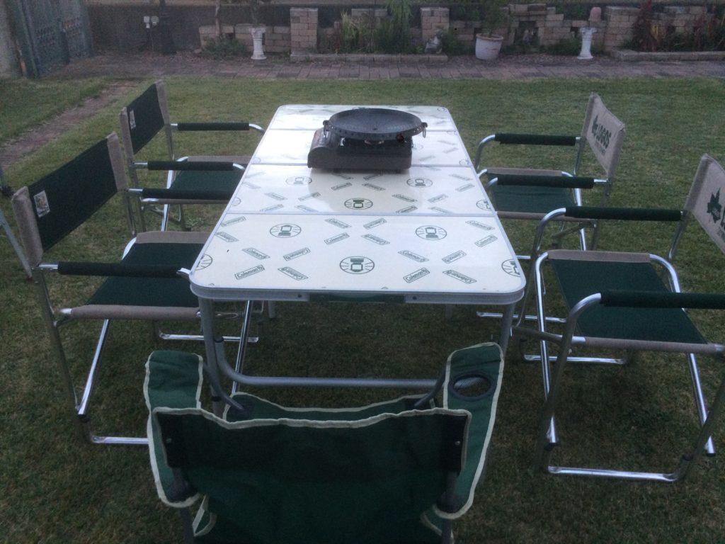 コールマン テーブル 4~6人用