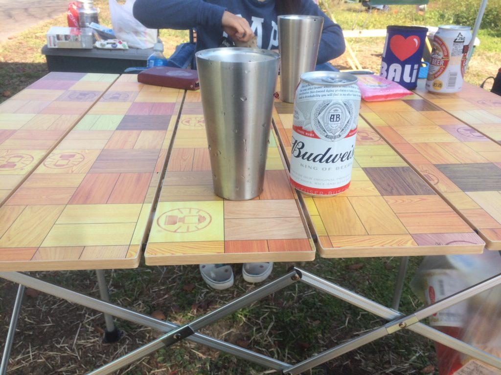 コールマン テーブル ナチュラルモザイク