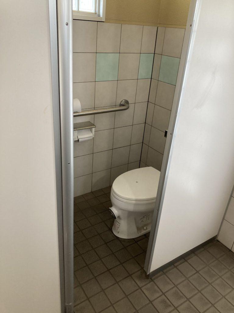 道の駅の赤城の恵み併設のあいのやまの湯トイレ便器