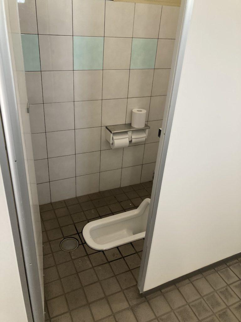 道の駅の赤城の恵み併設のあいのやまの湯のトイレ便器