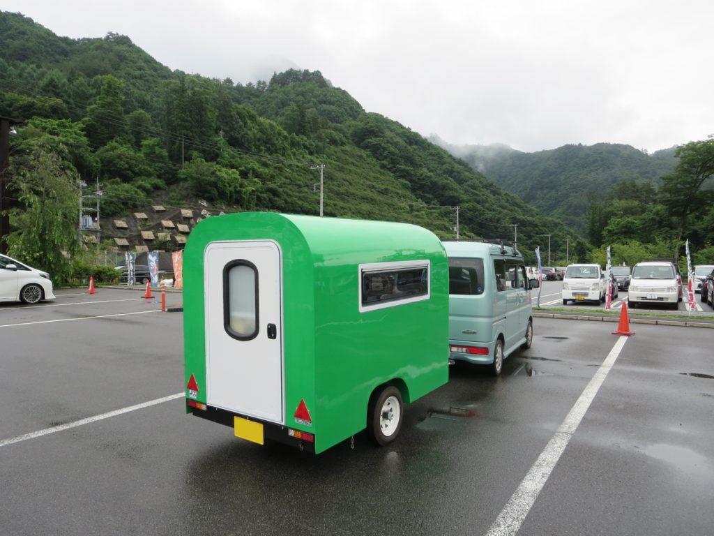道の駅 八ッ場ふるさと館の駐車場