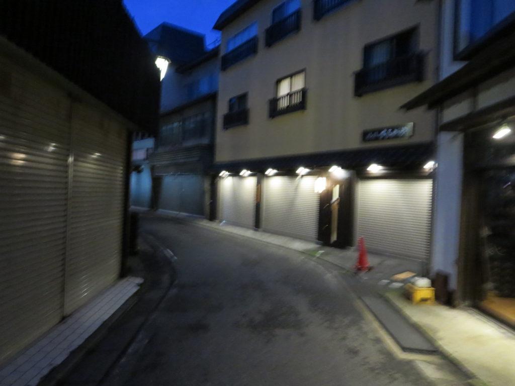 草津温泉、天狗第一駐車場の車中泊の帰り道