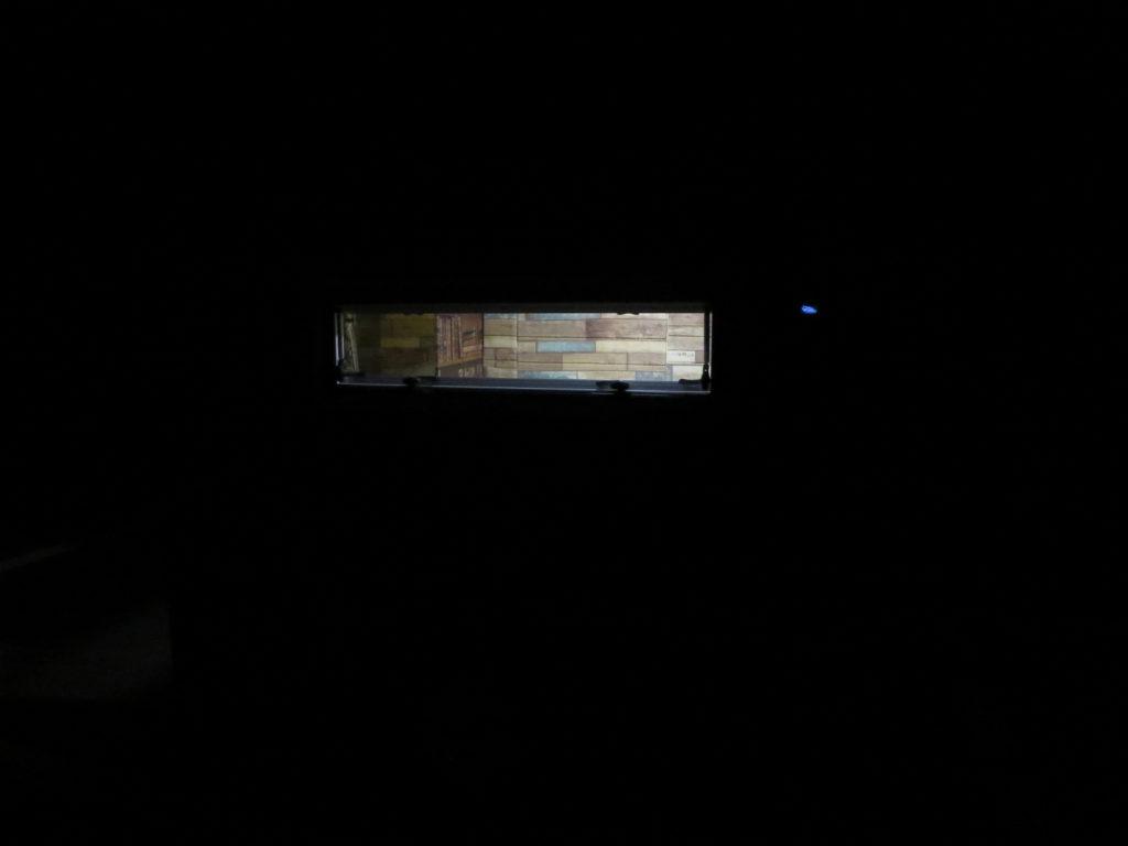 草津温泉、天狗第一駐車場の車中泊の夜の幌馬車くんの