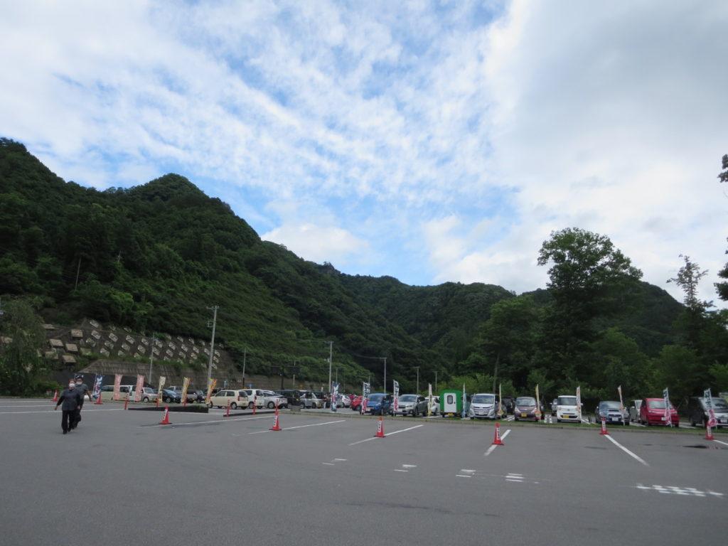 道の駅 八ッ場ふるさと館駐車場