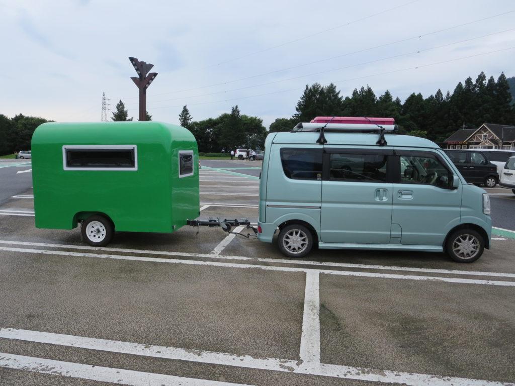 蓼の花オートキャンプ場 横川SAで休憩