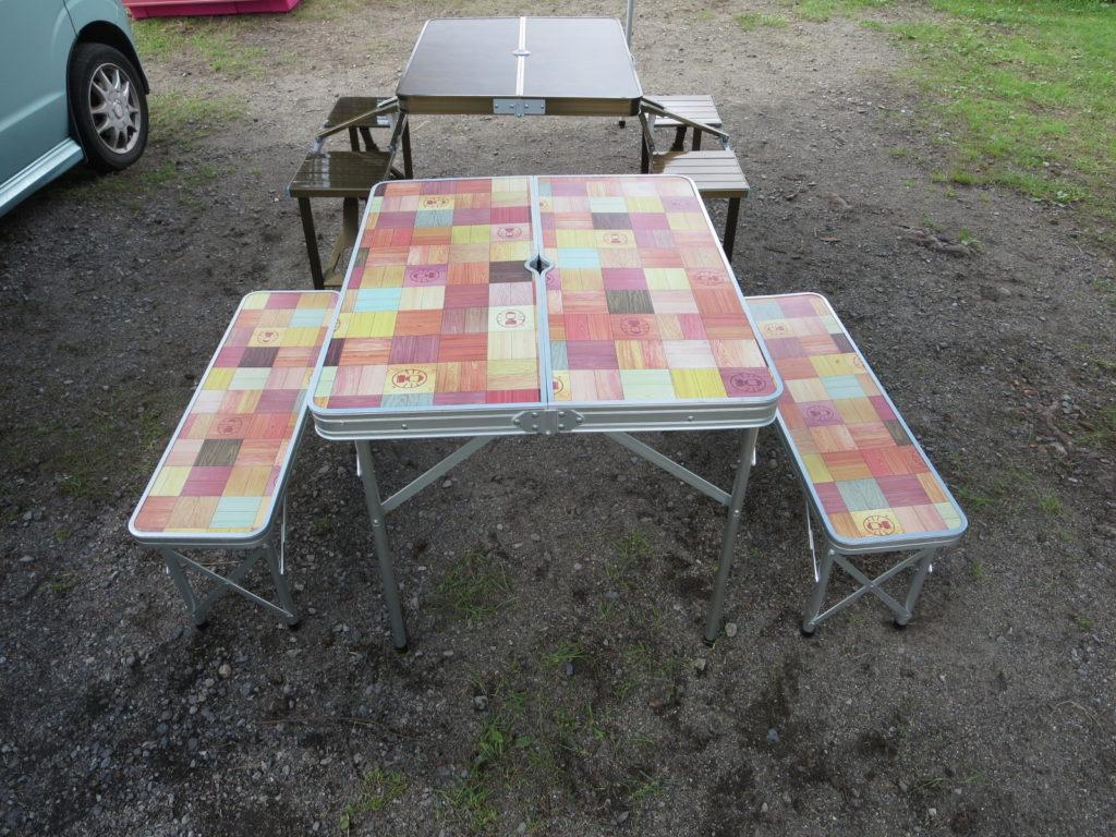 Coleman(コールマン) ナチュラルモザイクファミリーリビングセット ピクニックテーブル