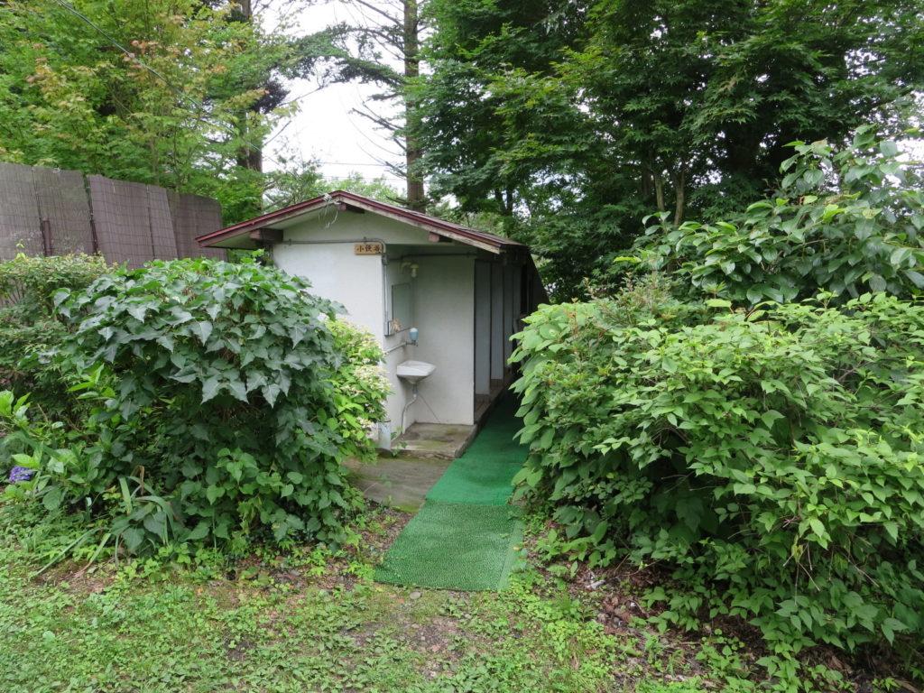 蓼の花オートキャンプ場のトイレ