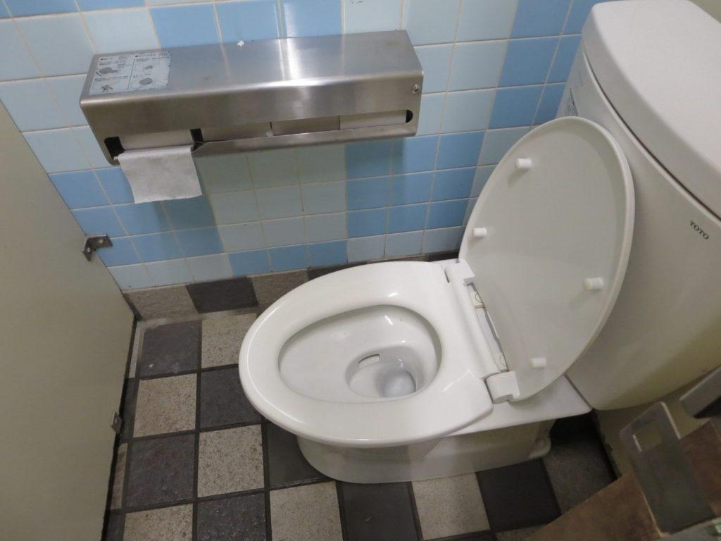すずらんの湯の外トイレ 便器