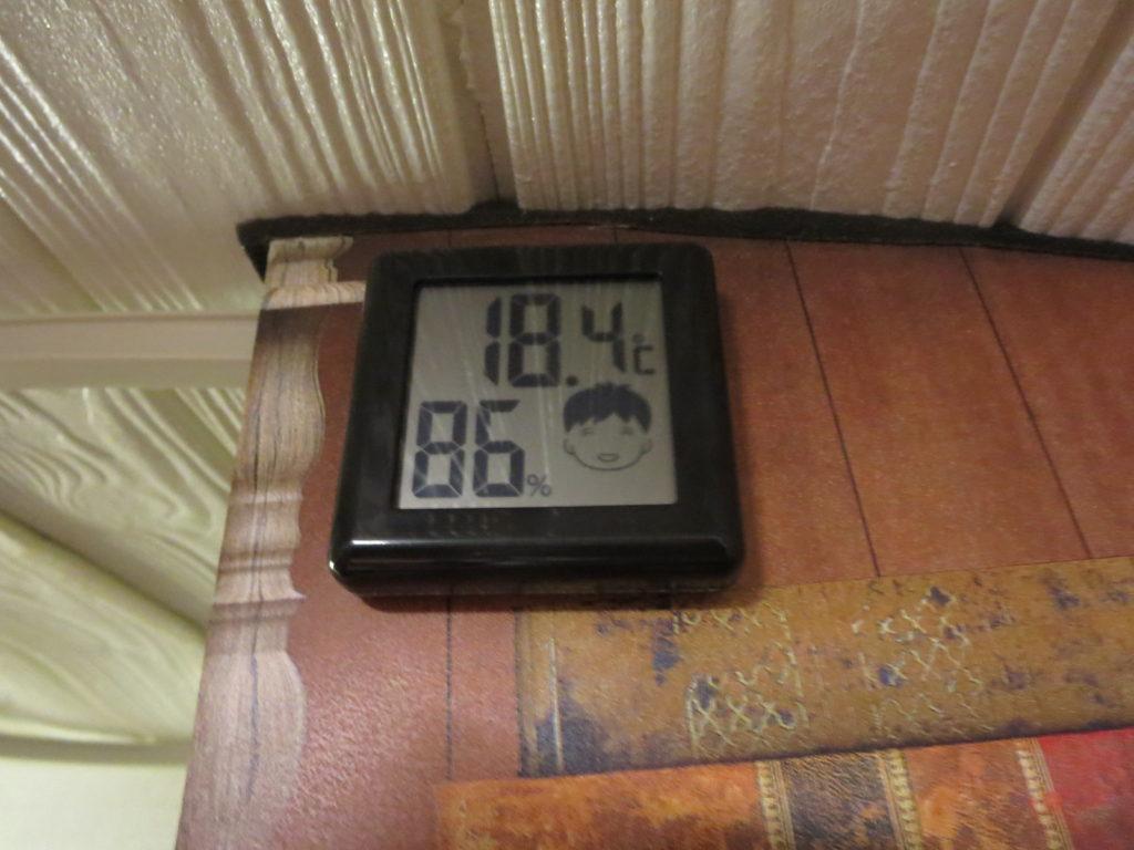 霧ヶ峰キャンプを幌馬車くんで行く 7月末の夜の気温