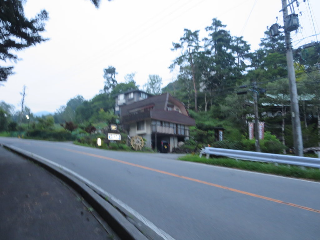 道の駅ビーナスライン蓼科湖の小斉の湯温泉 入口