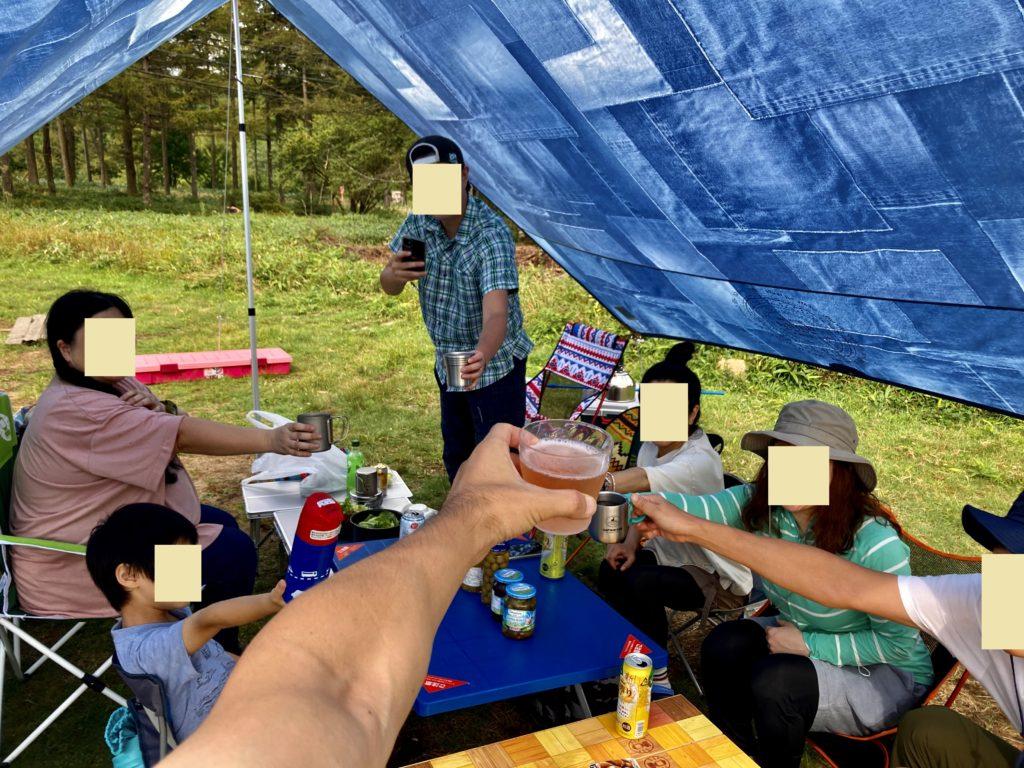 幌馬車くんと行く霧ヶ峰スキー場の車中泊&霧ヶ峰キャンプ場で乾杯
