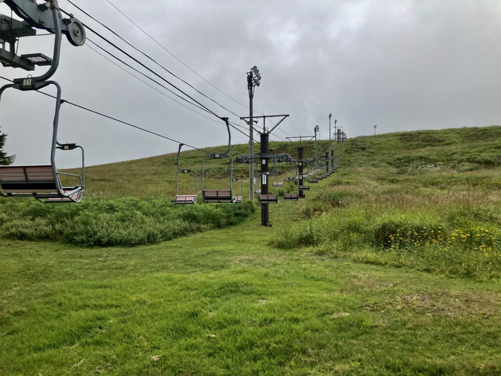 幌馬車くんと行く霧ヶ峰スキー場の車中泊&周辺散策