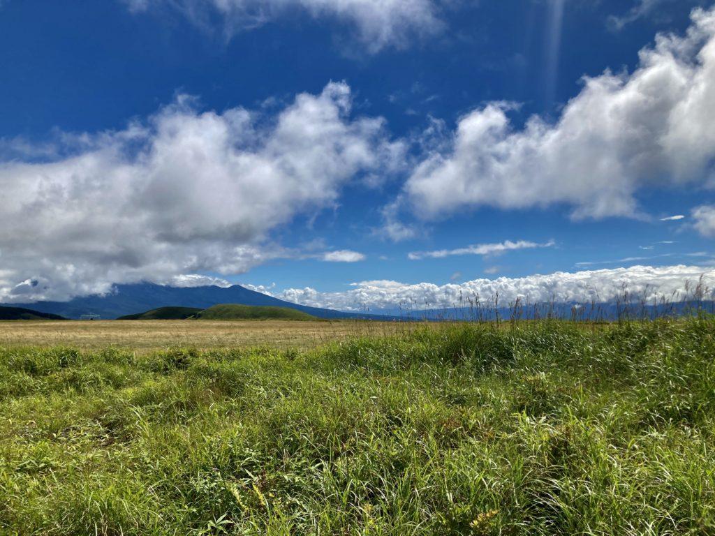 馬車くんと行く霧ヶ峰スキー場の車中泊&周辺散策の山頂