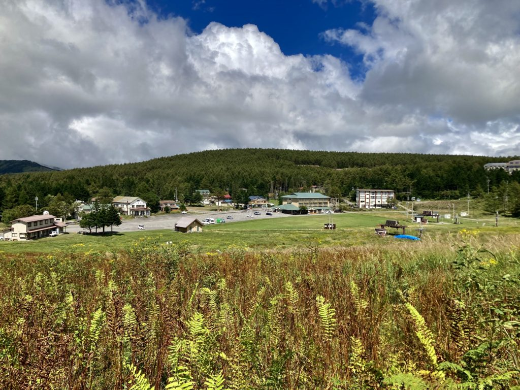 馬車くんと行く霧ヶ峰スキー場の車中泊&周辺散策での風景