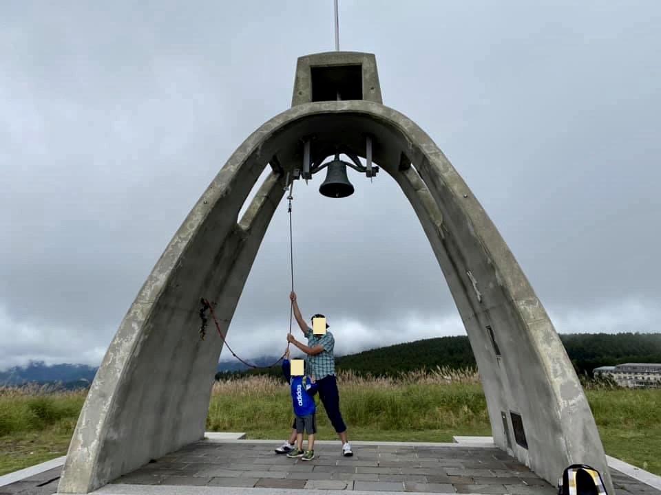 馬車くんと行く霧ヶ峰スキー場の車中泊&周辺散策で霧鐘塔