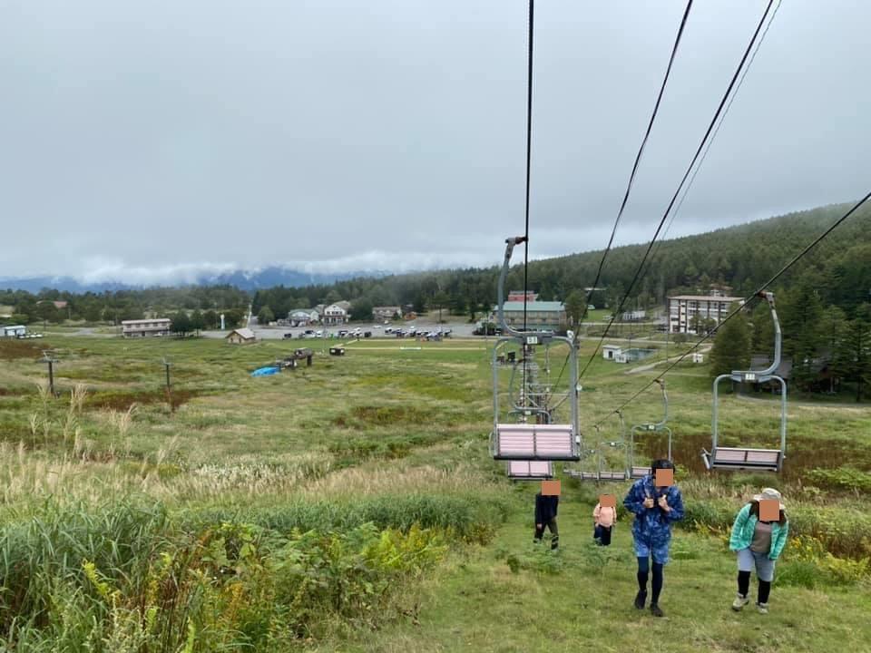 馬車くんと行く霧ヶ峰スキー場の車中泊&周辺散策のリフト