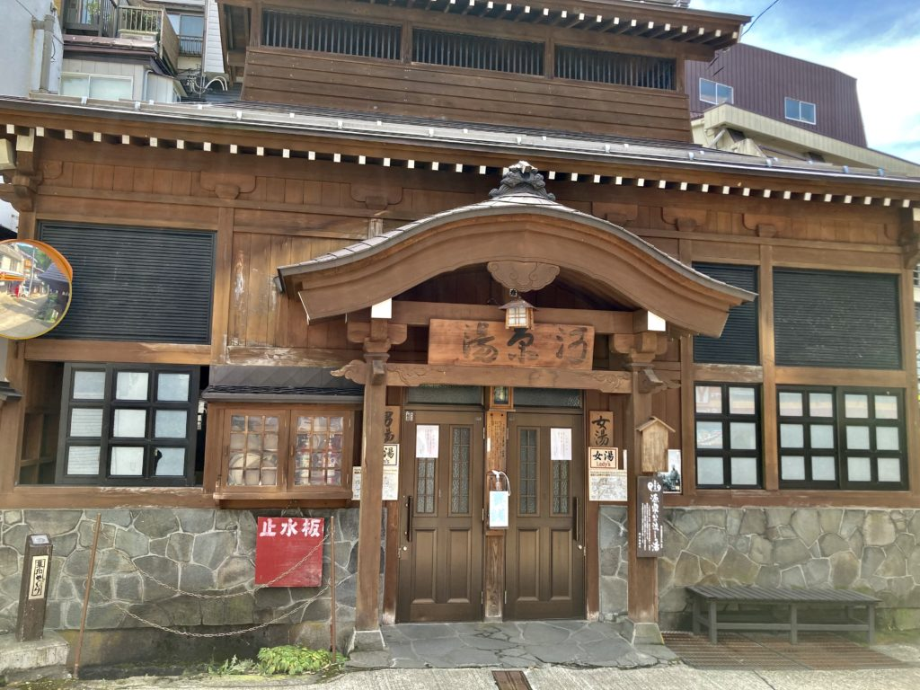 野沢温泉の外湯「湯原湯」