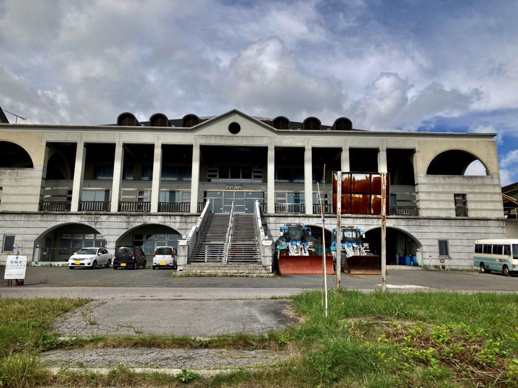 幌馬車くんと行くパルコール嬬恋「駐車場」車中泊&四阿山の登山