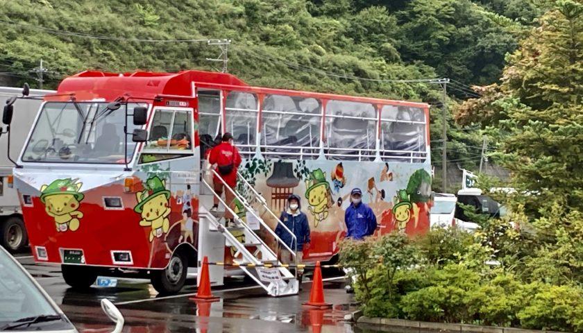道の駅「八ッ場ふるさと館」水陸両用車ダックツアー