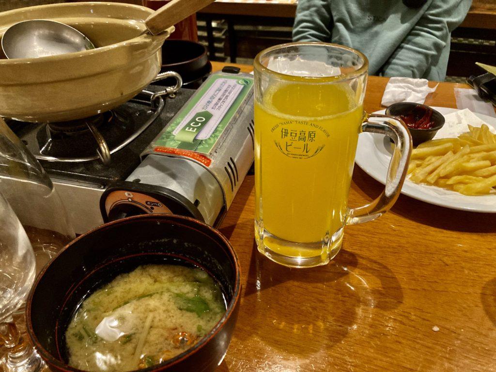 伊豆の道の駅「伊東マリンタウン」の伊豆高原ビールのレストラン