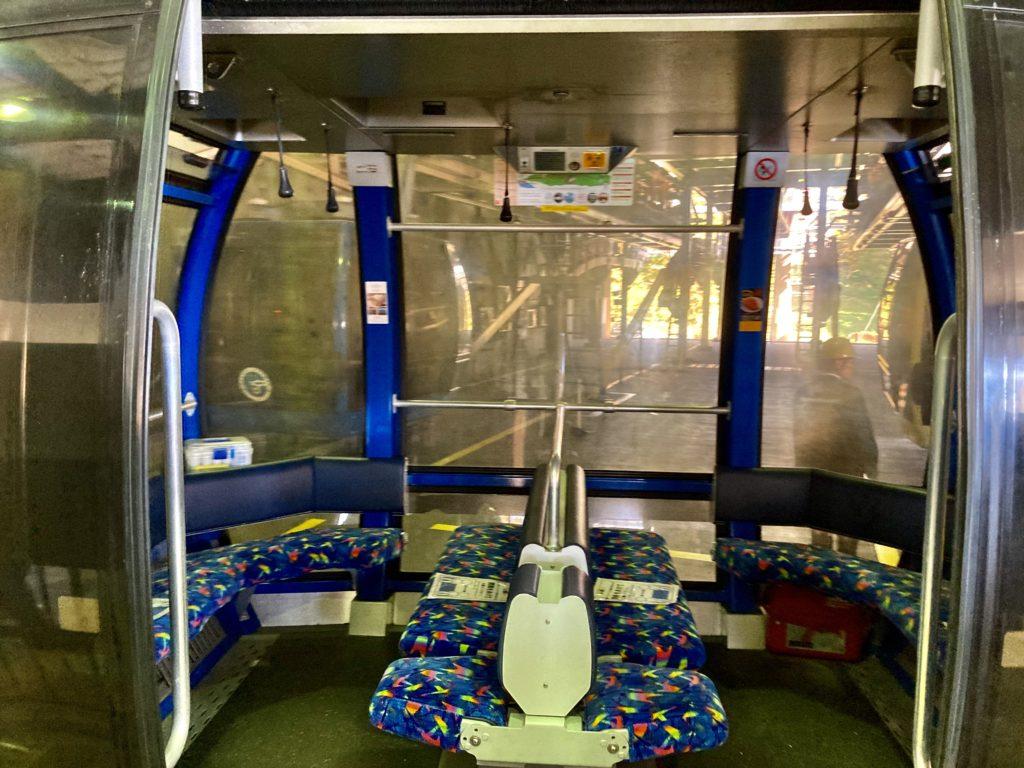 軽キャンピングトレーラーの幌馬車くんで行く箱根の芦ノ湖と大涌谷の観光 箱根ロープウェイ