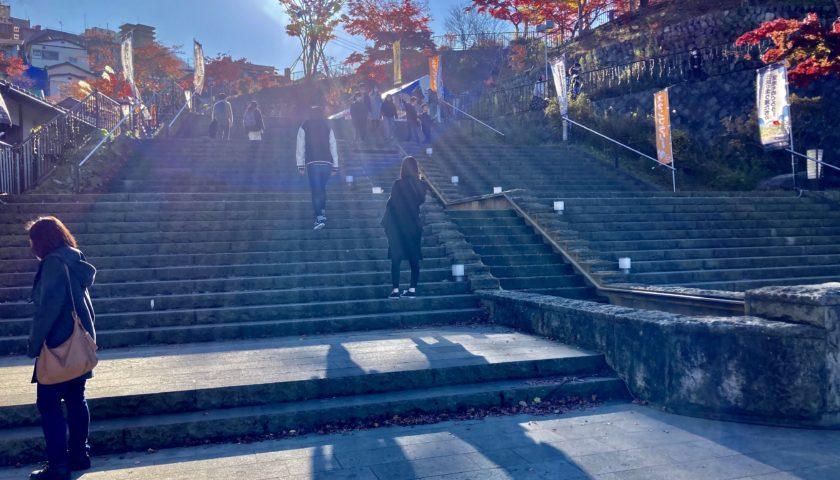 軽キャンピングトレーラーの幌馬車くんで行く渋川市総合公園キャンプ場&伊香保温泉観光