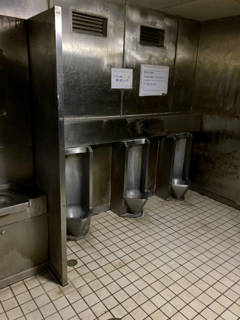 大洗サンビーチ駐車場に泊まる時の大洗町営第二駐車場のトイレ