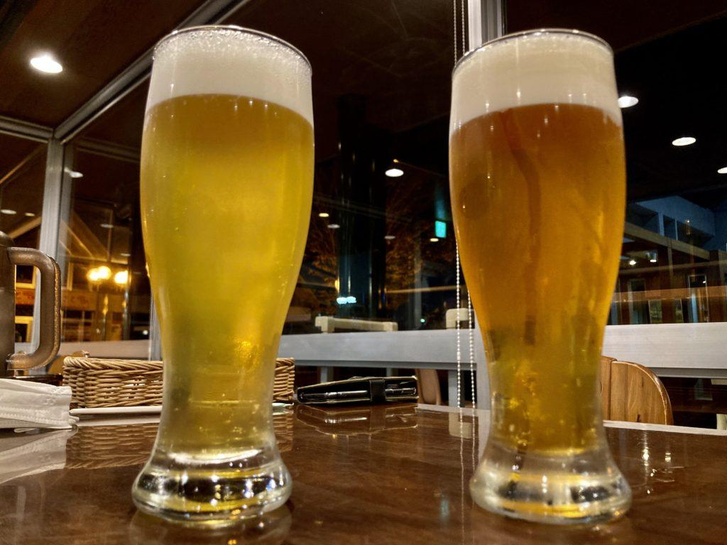 道の駅「宇都宮ろまんちっく村」のレストランの麦の楽園の地ビール