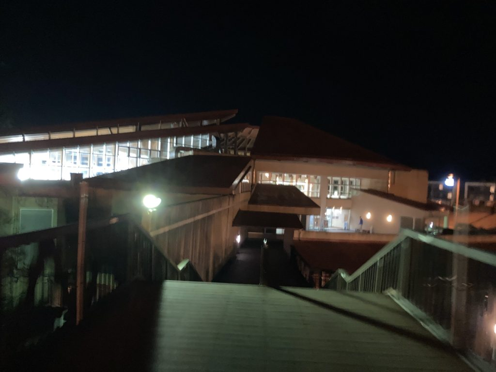 道の駅「宇都宮ろまんちっく村」の日帰り温泉施設「湯処あぐり」の外観
