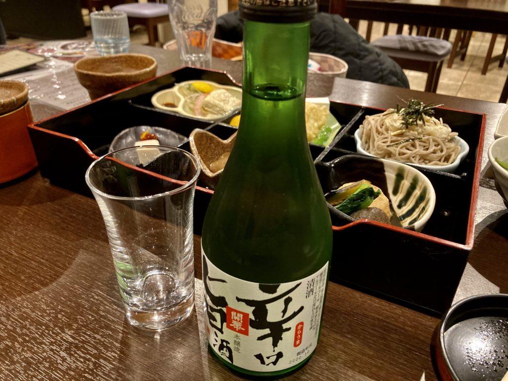 道の駅「宇都宮ろまんちっく村」のレストランの「ゆず庵」の日本酒