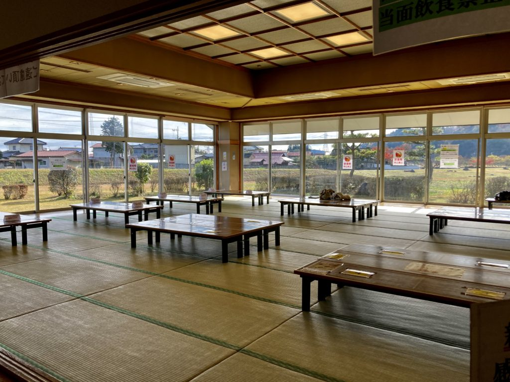矢板 城の湯やすらぎの里の日帰り温泉施設「城の湯温泉」の休憩室