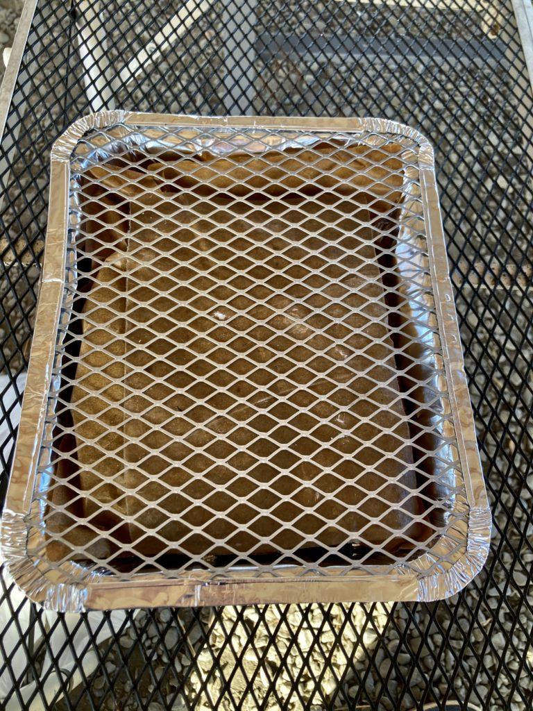 かんなの湯バーベキュー施設で100均のインスタントコンロを使ってみるパッケージを剥がした