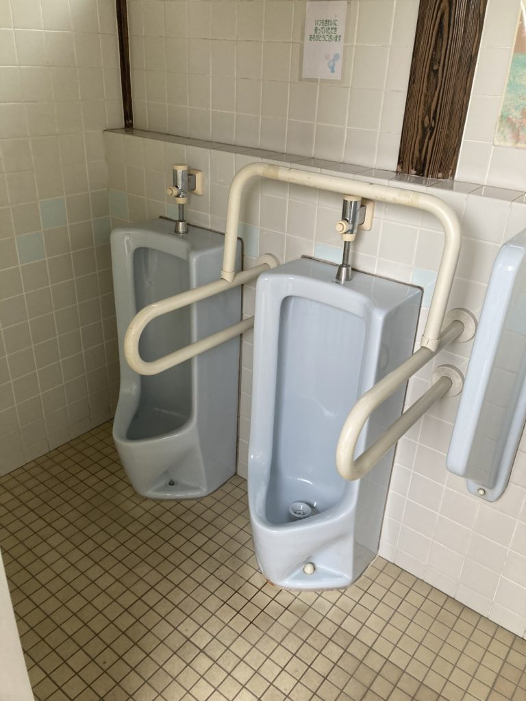 かんなの湯バーベキュー施設で使うトイレ