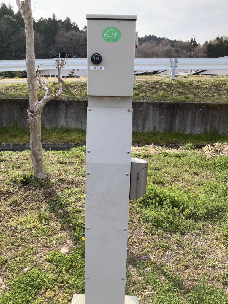 幌馬車くんと行く軽キャンピングトレーラー車中泊で矢坂城の湯RVパーク電源