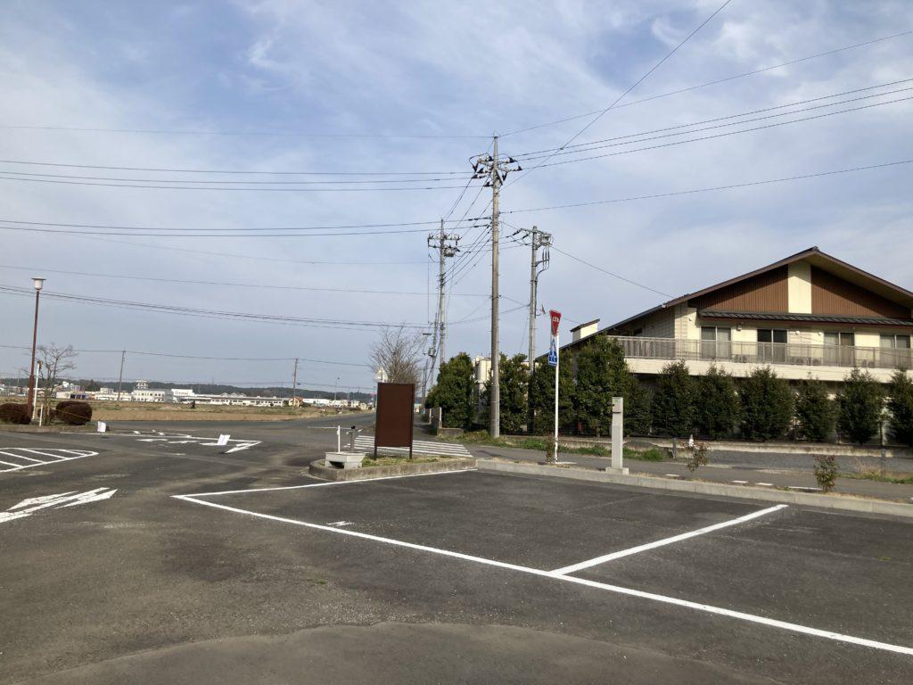 幌馬車くんと行く軽キャンピングトレーラー車中泊で矢坂城の湯RVパーク水道
