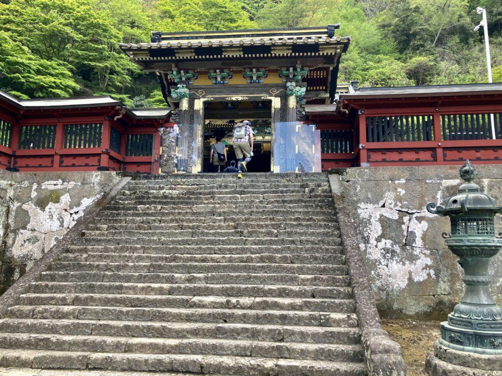 妙義神社参拝