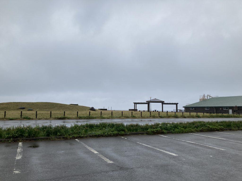道の駅「うみてらす名立」の4月の朝