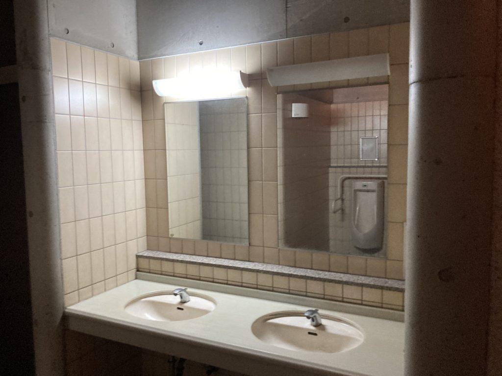 道の駅「とぎ海街道」のトイレの洗面台
