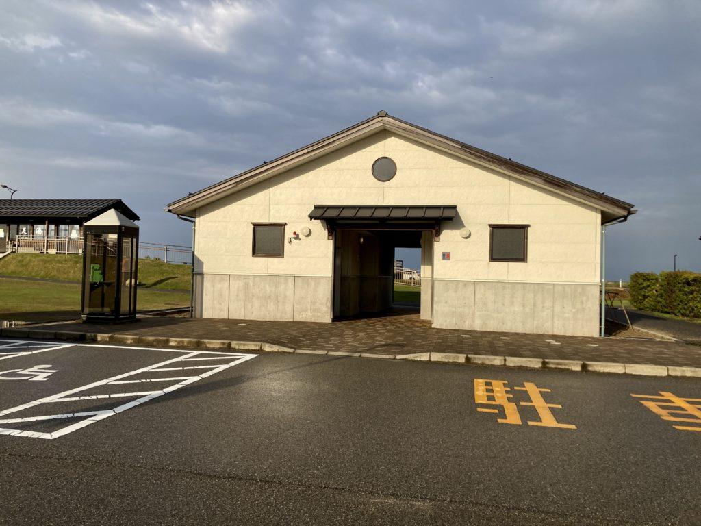 道の駅「氷見番屋街」の24時間トイレ