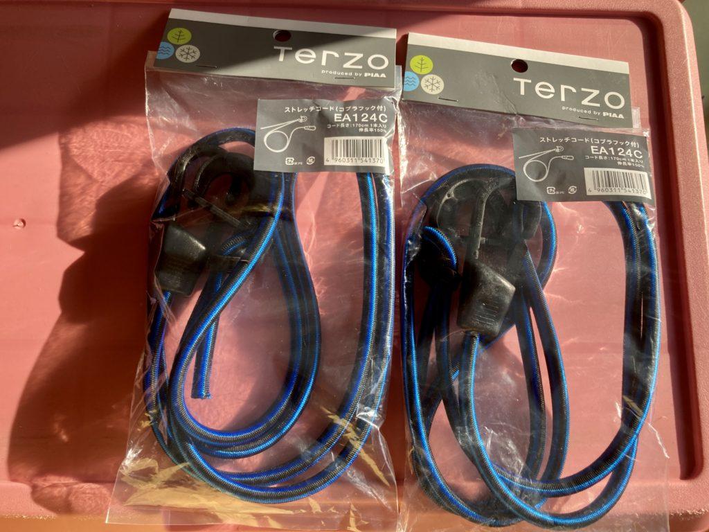 Terzo(テルッツオ)ストレッチコード(コブラフック付き)EA124C
