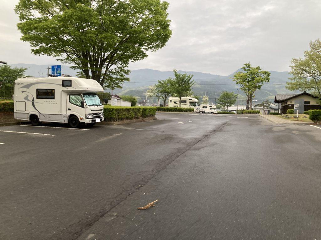 道の駅「川場田園プラザ」の第三駐車場