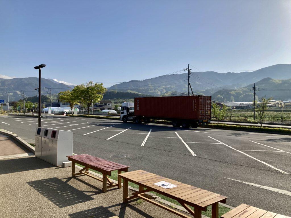 道の駅「川場田園プラザ」の第一駐車場