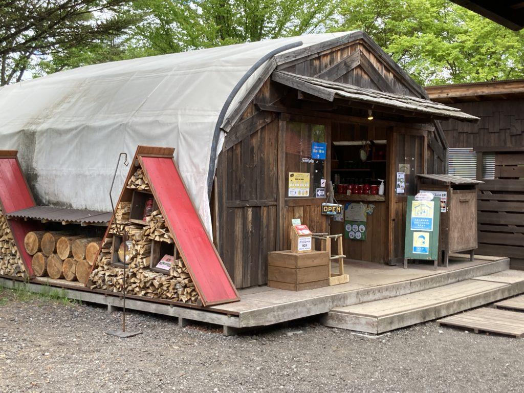 北軽井沢スウィートグラスの売店